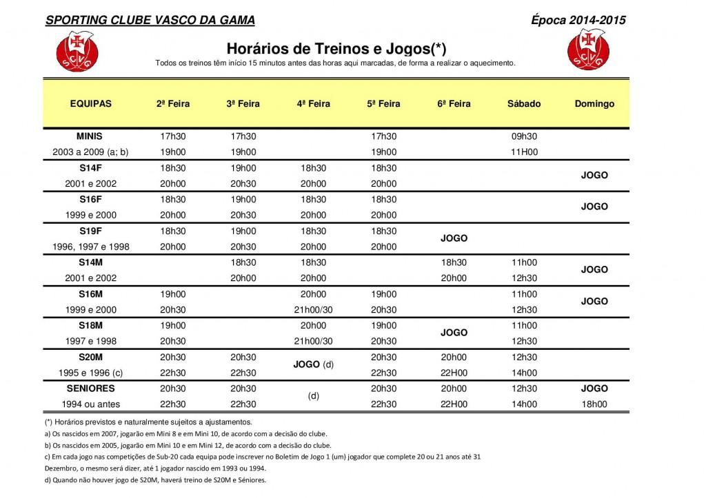 Horarios de Treinos e Jogos 2014-2015 (4)